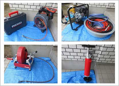 キッチン排水の詰まり修理