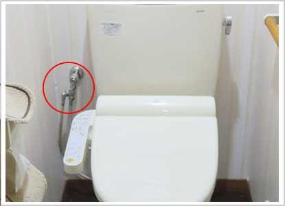 トイレのパイプからの水漏れ