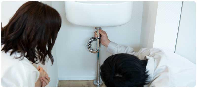 水のトラブルの対応修理